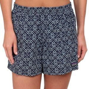 Patagonia Women's Baggies Shorts - Navy Pattern